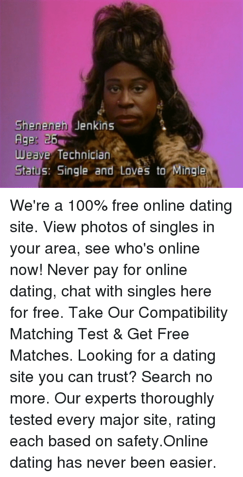 "free dating no charges ever The best free dating sites no fees ever is click here dating site is no doubt matchcom and they are currently offering free 3 day trial you really don't want to use ""free dating sites"" because there is a lot of fake profiles and flakes that have no intention in actually meeting."