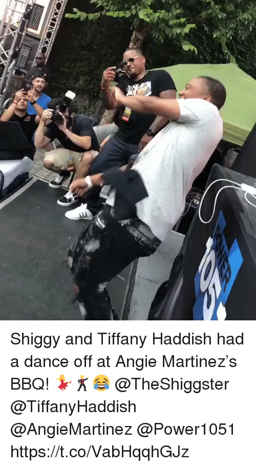 dance off: Shiggy and Tiffany Haddish had a dance off at Angie Martinez's BBQ! 💃🕺😂 @TheShiggster @TiffanyHaddish @AngieMartinez @Power1051 https://t.co/VabHqqhGJz