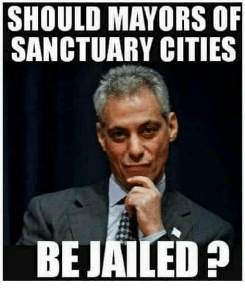 Memes, 🤖, and Sanctuary: SHOULD MAYORS OF  SANCTUARY CITIES