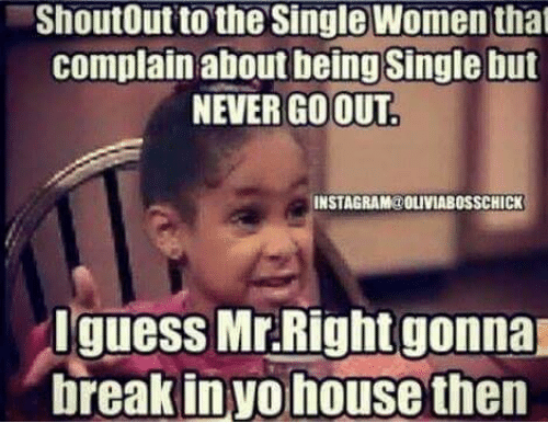 Single Memes Instagram ShoutOut to the Single...