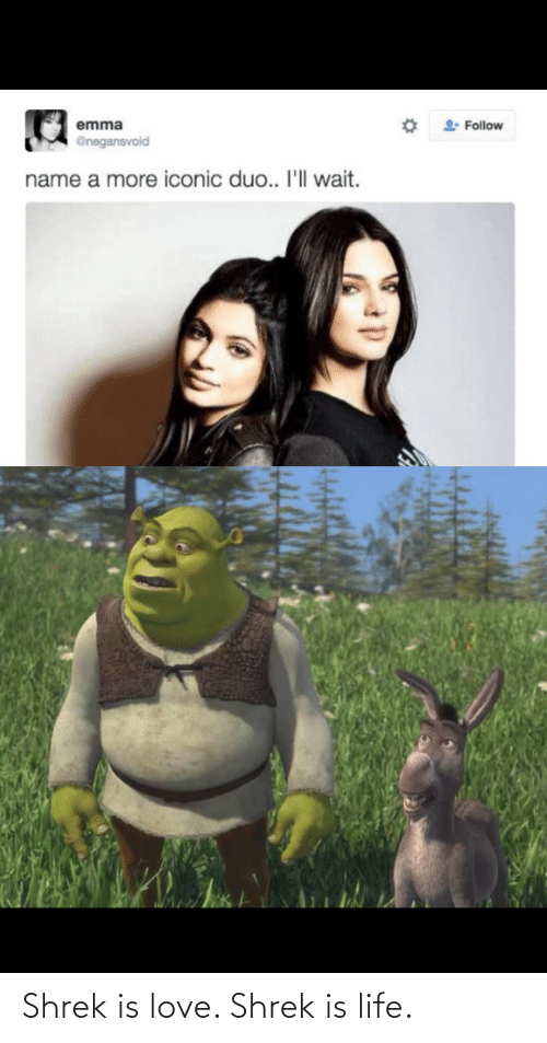 Is Life: Shrek is love. Shrek is life.