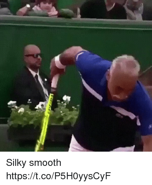 Memes, Smooth, and 🤖: Silky smooth  https://t.co/P5H0yysCyF