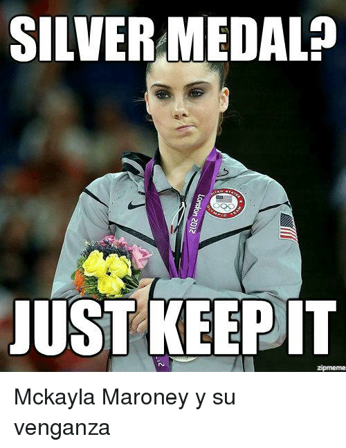 mckayla maroney: SILVERMEDALP  JUST KEEP IT  Zpmeme Mckayla Maroney y su venganza