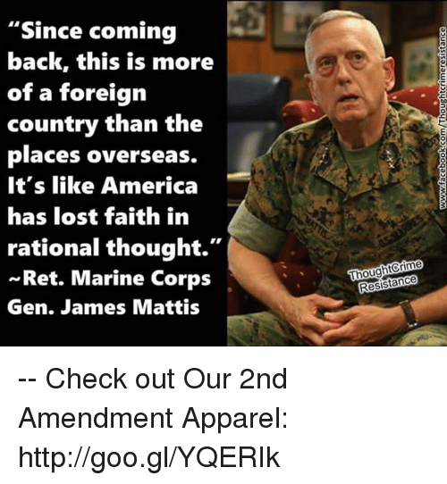 Best Places In Our Country: 25+ Best Memes About James Mattis