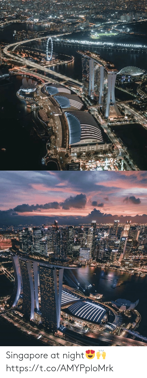 Memes, Singapore, and 🤖: Singapore at night😍🙌 https://t.co/AMYPploMrk