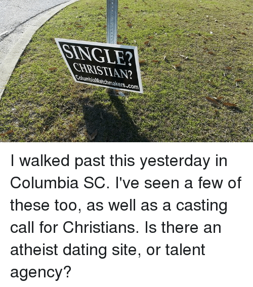 Atheist dating a christian girl