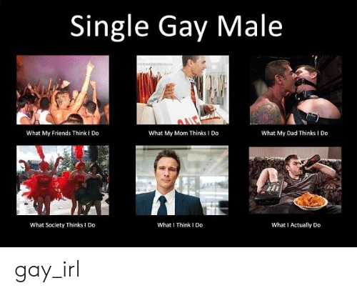 What My Mom Thinks I Do: Single Gay Male  What My Friends Think I Do  What My Mom Thinks I Do  What My Dad Thinks I Do  What Society Thinks I Do  What I Think I Do  What I Actually Do gay_irl