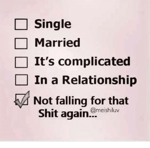 are you single are you dating is it complicated