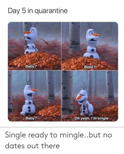 mingle: Single ready to mingle..but no dates out there