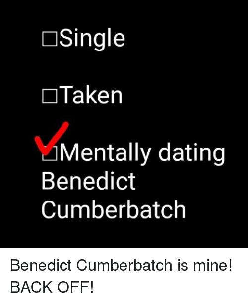 Mentally dating benedict cumberbatch shirt