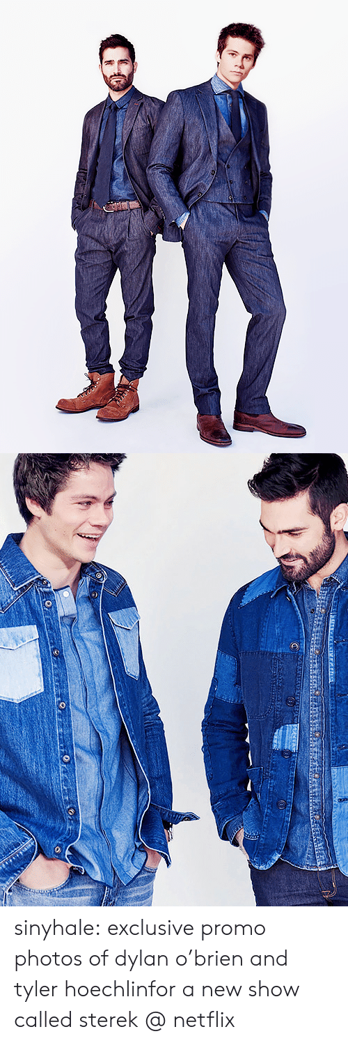 tyler hoechlin: sinyhale:  exclusive promo photos of dylan o'brien and tyler hoechlinfor a new show called sterek @ netflix