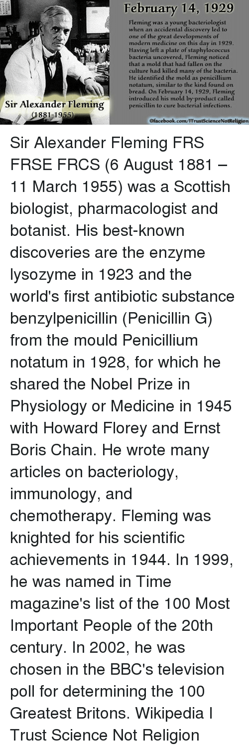 a biography of alexander fleming the one who discovered benzylpenicillin Biography of alexander fleming | alexander fleming and penicillin eminent bacteriologist discovered penicillin semicasual way it was the start of antibiotics and modern medicine.