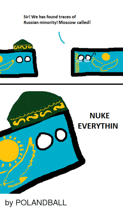 Memes, Russian, and Polandball: Sir! We has found traces of Russian minority
