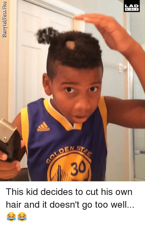 Dank, Hair, and 🤖: Siuryiuxx Five  8 This kid decides to cut his own hair and it doesn't go too well... 😂😂
