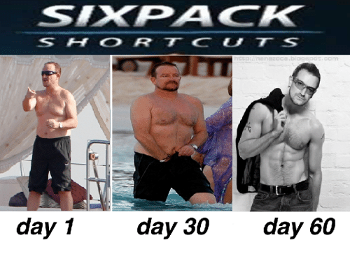 how to get a six pack in 60 days