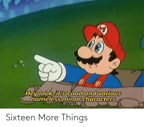 things: Sixteen More Things