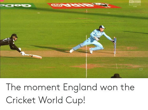 Sky Sports: sky sports  cricket world cup  Papu  LIVE The moment England won the Cricket World Cup!