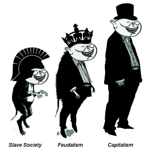 feudalism to capitalism Marx argued that societies naturally pass from feudalism to capitalism before the inevitable emergence of the classless socialist society marxist historians.