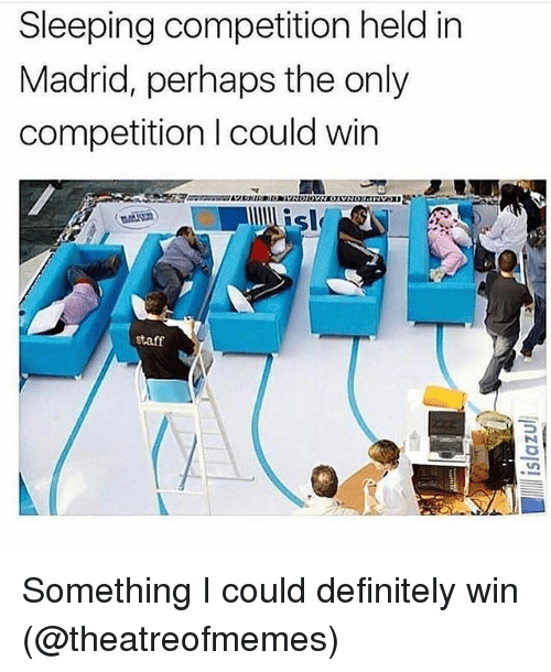 competition is actually good