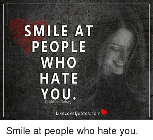 Smile Creepy Viral: L Like To Smile At People Who Don't Like Me