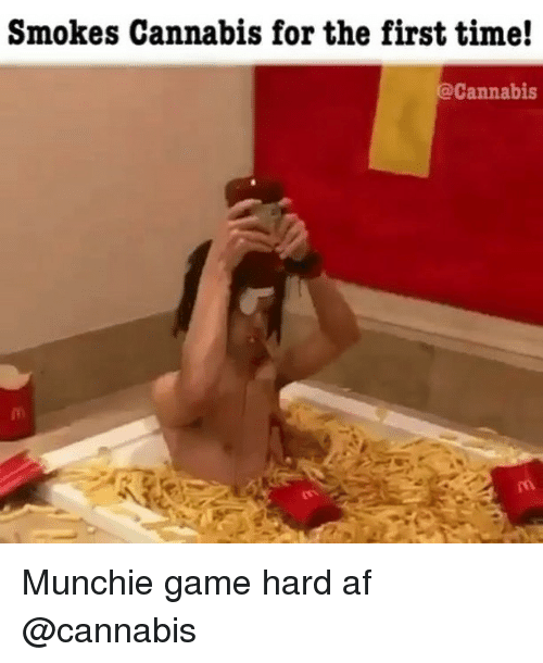 Af, Weed, and Game: Smokes Cannabis for the first time!  @Cannabis Munchie game hard af @cannabis