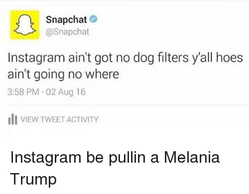 how to get snapchat filters on instagram