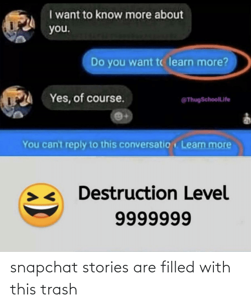 Snapchat: snapchat stories are filled with this trash