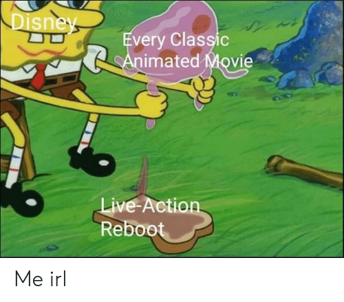 ReBoot: sne  very Classic  imated Movie  ive-Action  Reboot Me irl