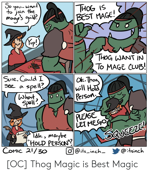 """tak: So  7ou.. want  to join the  THОG 15  BEST MAGE!  mogye's g?  Kep!)  THOG WANT IN  To MAGE CLUB!  