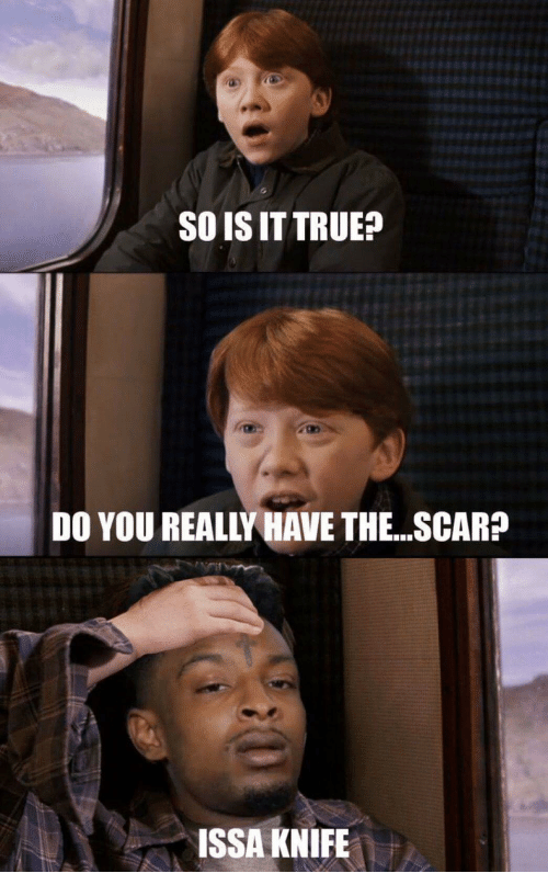 Issa Knife: SO IS IT TRUE?  DO YOU REALLY HAVE THE. .SCAR?  ISSA KNIFE