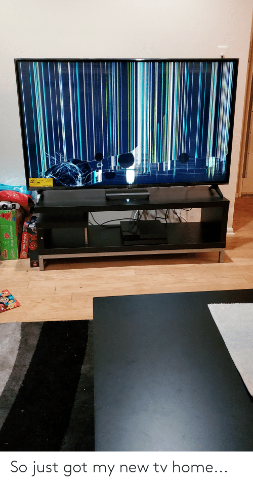 New Tv: So just got my new tv home...