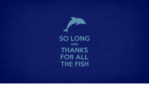 So long and thanks for all the fish fish meme on sizzle for How long is fish good for