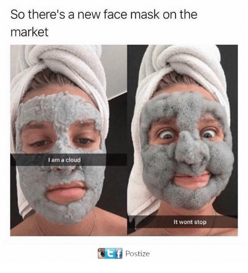 He likes masks but no condoms 1
