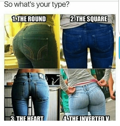 Whats Your Type: So what's your type?  1 THE ROUND  2 THE S  4 THE INVERTED V  3 THE HEART