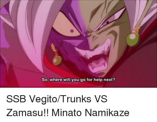 Memes, Trunks, and 🤖: So, where will you go for help next? SSB Vegito/Trunks VS Zamasu!! Minato Namikaze
