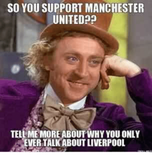 Manchester United Funny Meme : Best memes about tell me more