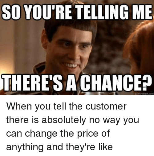Pricing Meme: Funny Retail Memes Of 2016 On SIZZLE