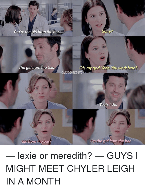 meredith single men Derek shepherd and meredith grey - sign up on the leading online dating site for beautiful women and men you will date, meet, chat, and create relationships.