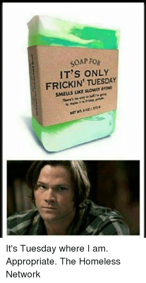 it only smells