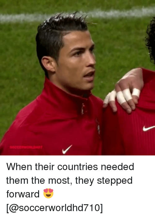 Memes, 🤖, and Them: SOCCERWORLDND When their countries needed them the most, they stepped forward 😍 [@soccerworldhd710]