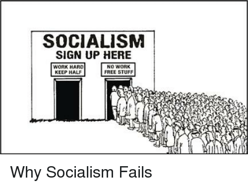 Image result for Why Socialism Fails