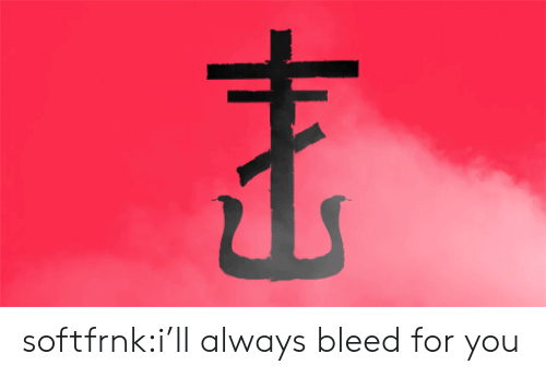 bleed: softfrnk:i'll always bleed for you