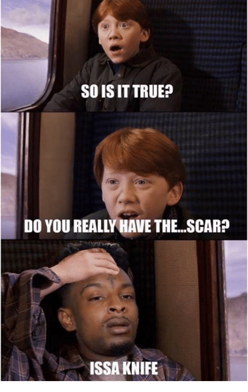 Issa Knife: SOISIT TRUE?  DO YOU REALLLHAVE THE...SCAR?  ISSA KNIFE
