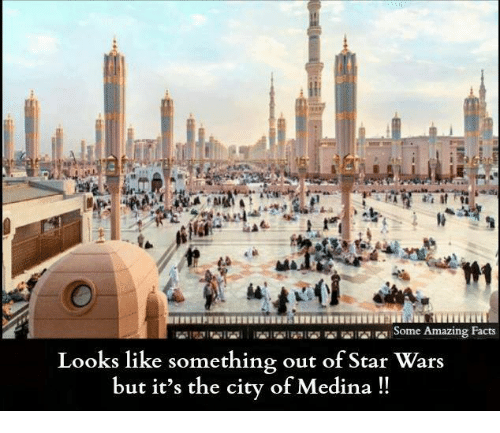 amazing facts: Some Amazing Facts  Looks like something out of Star Wars  but it's the city of Medina!