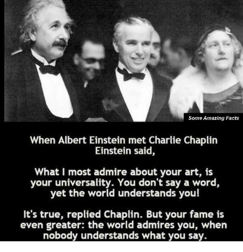 i admire albert einstein Albert einstein was an acknowledged genius who would someone like this look up to the three people in pictures on his study wall may surprise you.