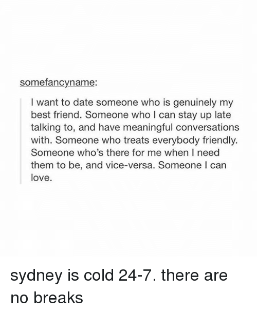 Dating best friend in Sydney