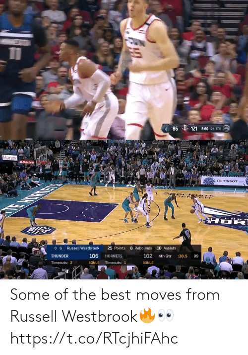 westbrook: Some of the best moves from Russell Westbrook🔥👀 https://t.co/RTcjhiFAhc