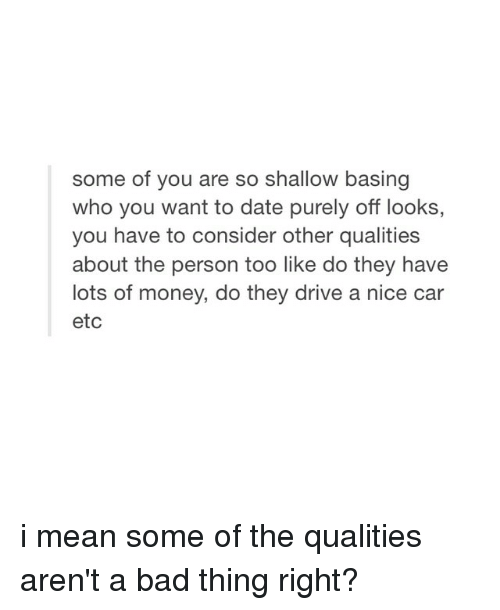 Dating sites where girl arent shallow