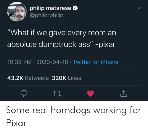 Pixar: Some real horndogs working for Pixar