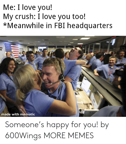 For You: Someone's happy for you! by 600Wings MORE MEMES